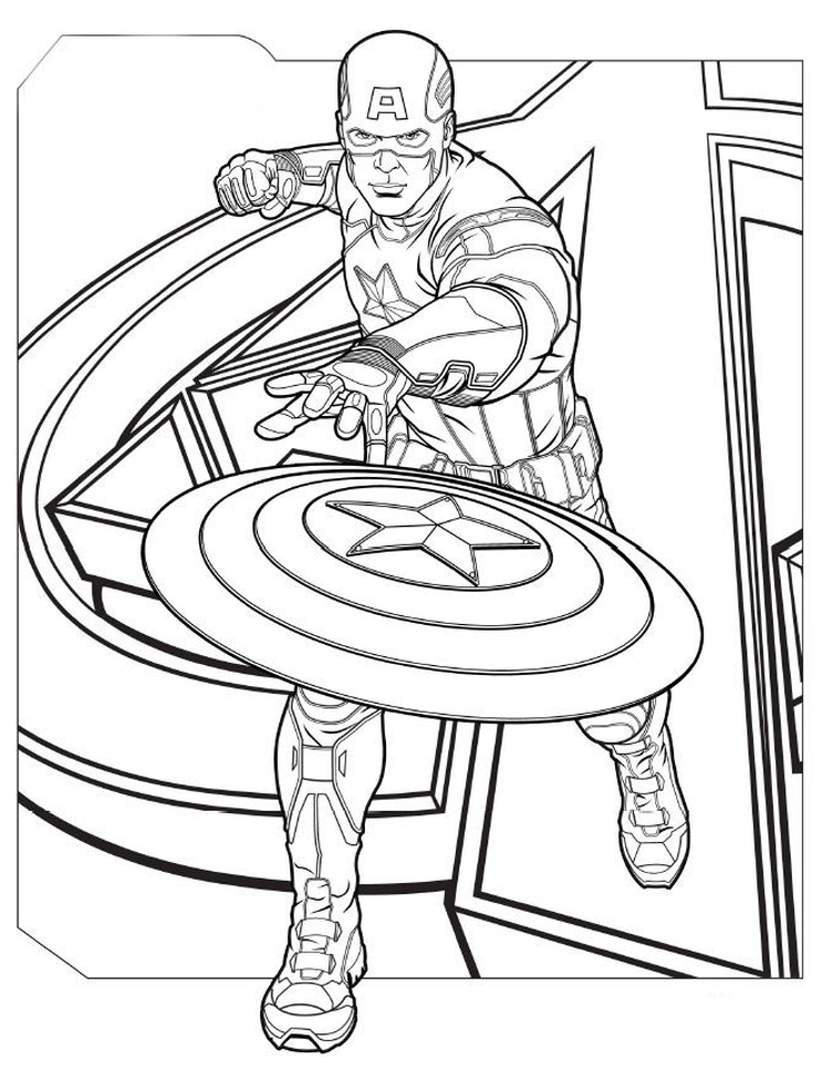 Infinity Gauntlet Coloring Coloring Pages