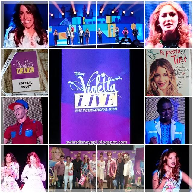 """Rocznica konferencji """"Disney Day"""" oraz koncertu """"Violetta Live"""" w Krakowie"""