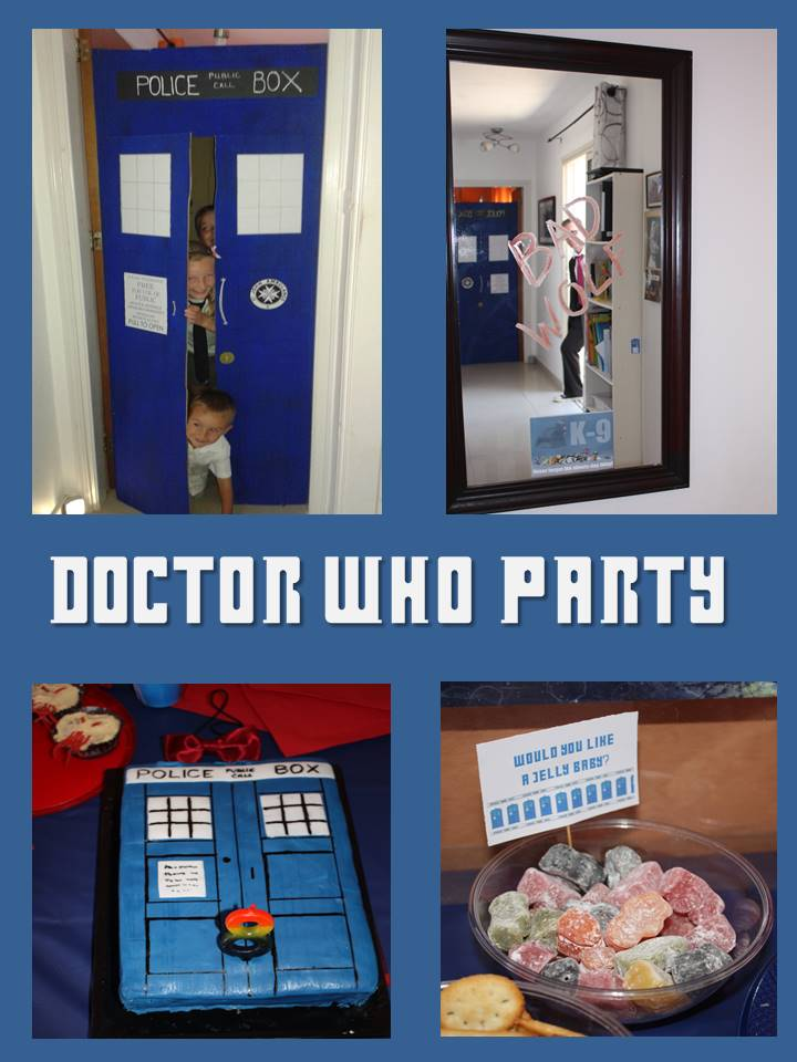 Doctor Who Party Preparation Decorations And Food