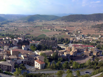 View from the Castle of Cardona