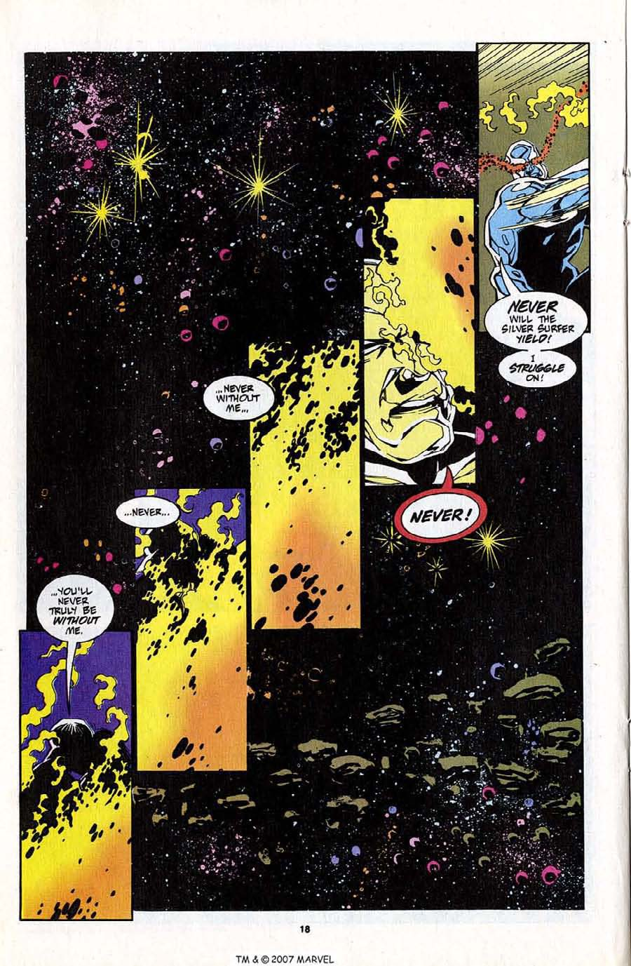 Read online Silver Surfer (1987) comic -  Issue #83 - 20