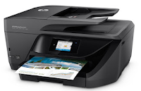HP OfficeJet Pro 6975 series capable of printing black and white and color professional quality. The cost of printing per sheet is up to 50% cheaper than laser printers