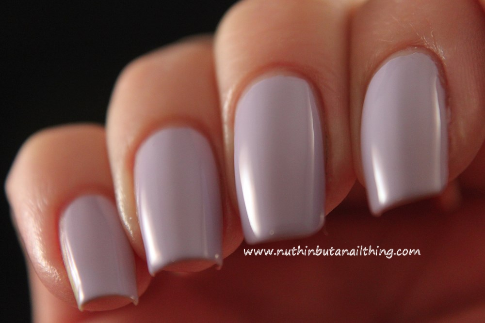 Models Own HyperGel Collection Swatches Lilac Sheen