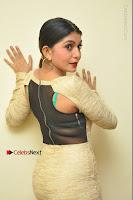 Actress Pooja Roshan Stills in Golden Short Dress at Box Movie Audio Launch  0118.JPG