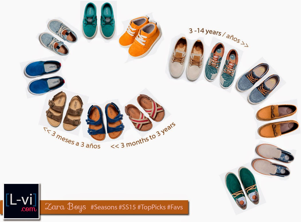 [Zara] SS15 Shoes for the boys!  L-vi.com