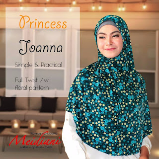 Jilbab Medium PRINCESS JOANNA