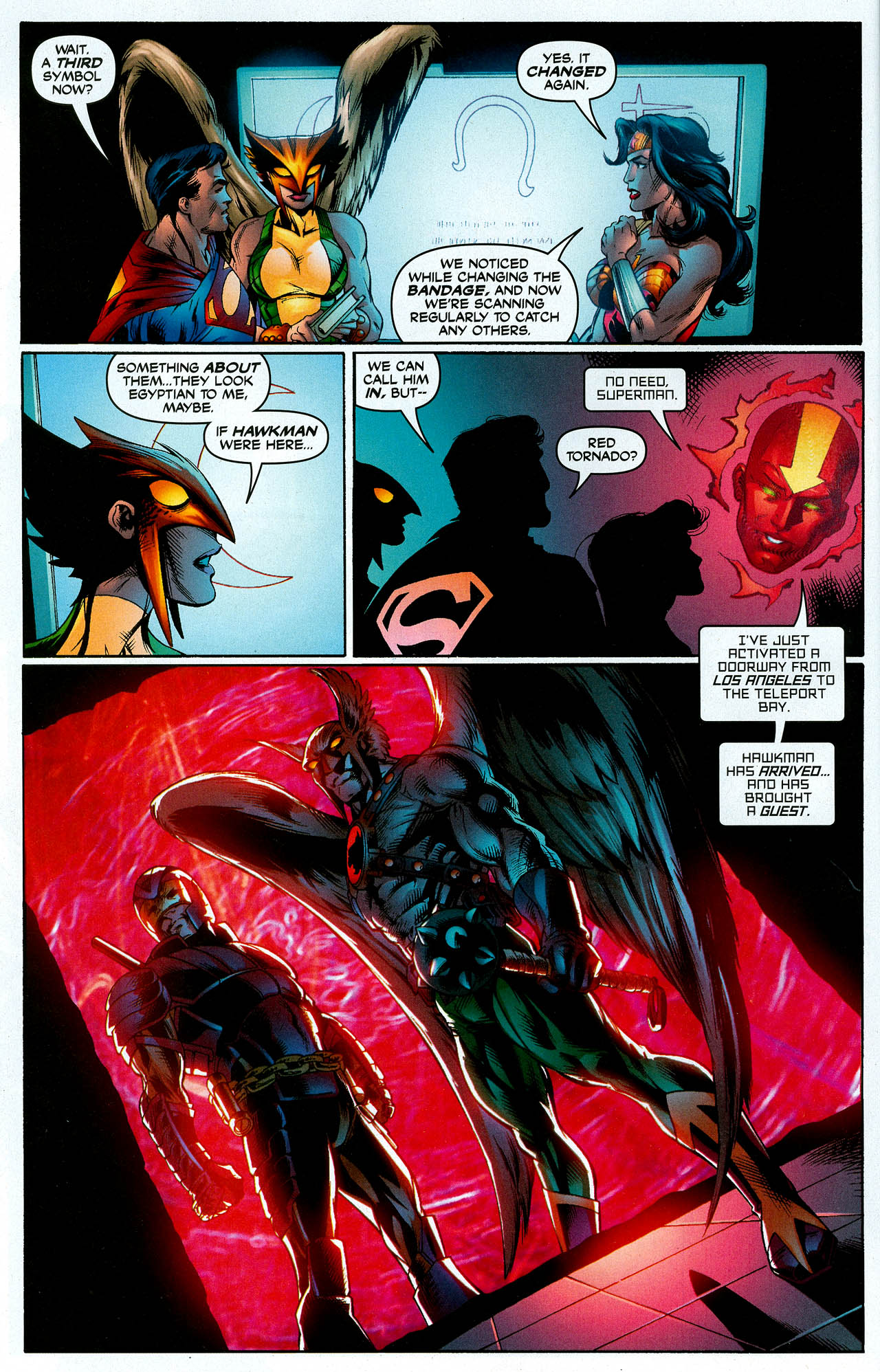Read online Trinity (2008) comic -  Issue #7 - 7