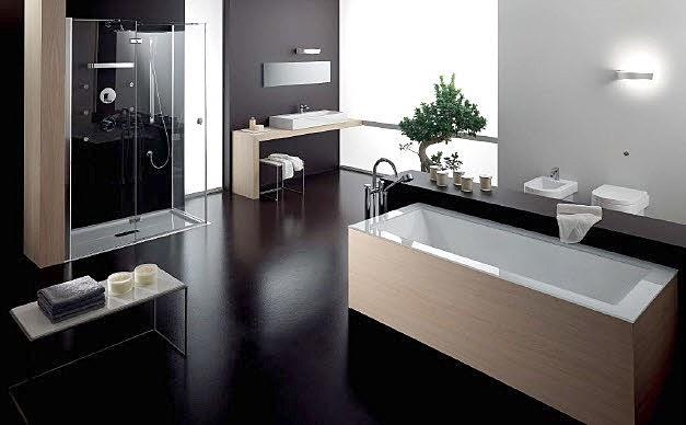 El ba o moderno y su dise o ideas para decorar dise ar for Banos modernos con jacuzzi y regadera