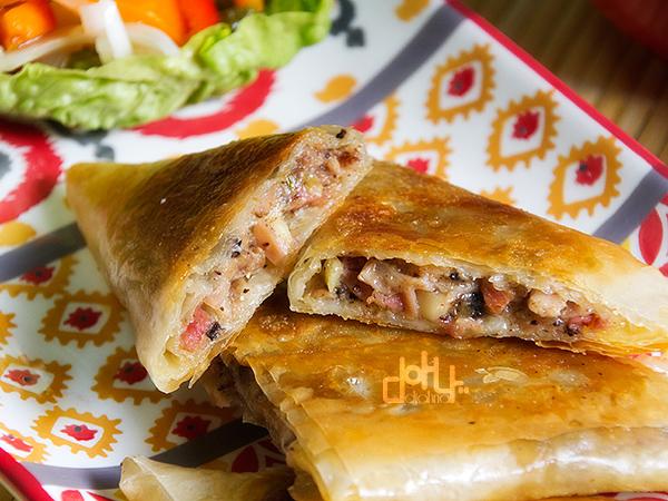 Receta de samosas, cocina de aprovechamiento