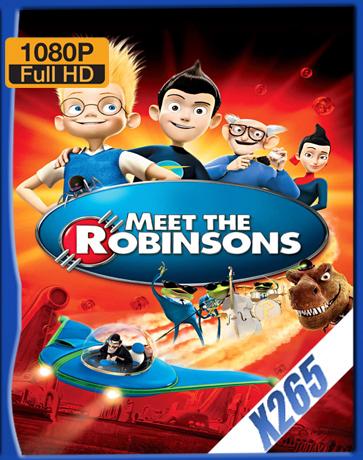 Meet The Robinsons [2007] [Latino] [1080P] [X265] [10Bits][ChrisHD]