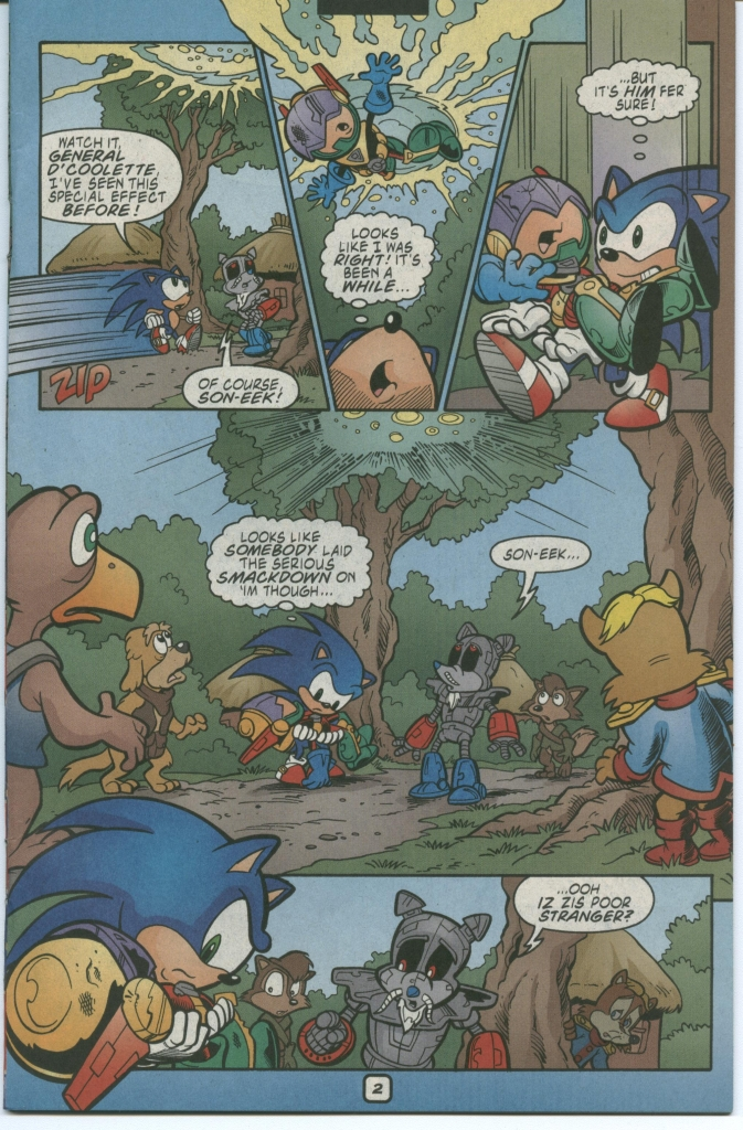 Read online Sonic The Hedgehog comic -  Issue #112 - 5