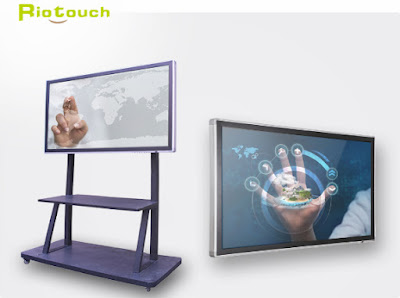Sử dụng màn hình tương tác Riotouch trong giải pháp hội nghị truyền hình