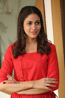 Actress Lavanya Tripathi Latest Pos in Red Dress at Radha Movie Success Meet .COM 0213.JPG