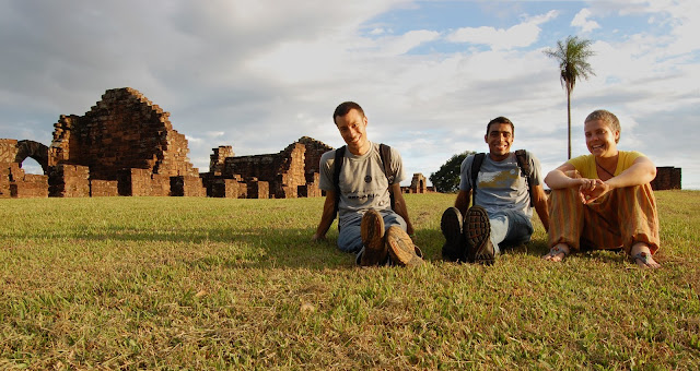 Jesuit Ruins at Trinidad, Paraguay