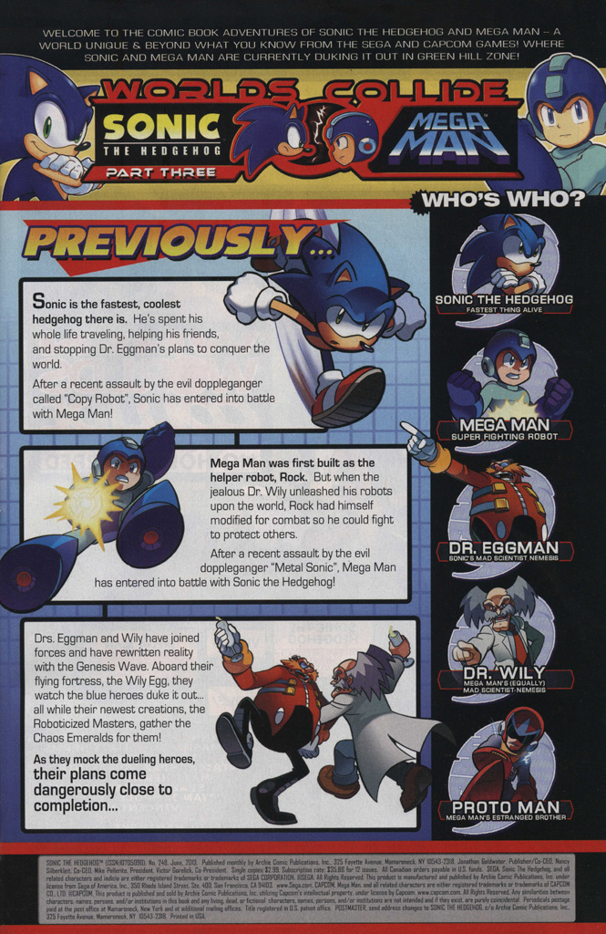 Read online Sonic The Hedgehog comic -  Issue #248 - 3