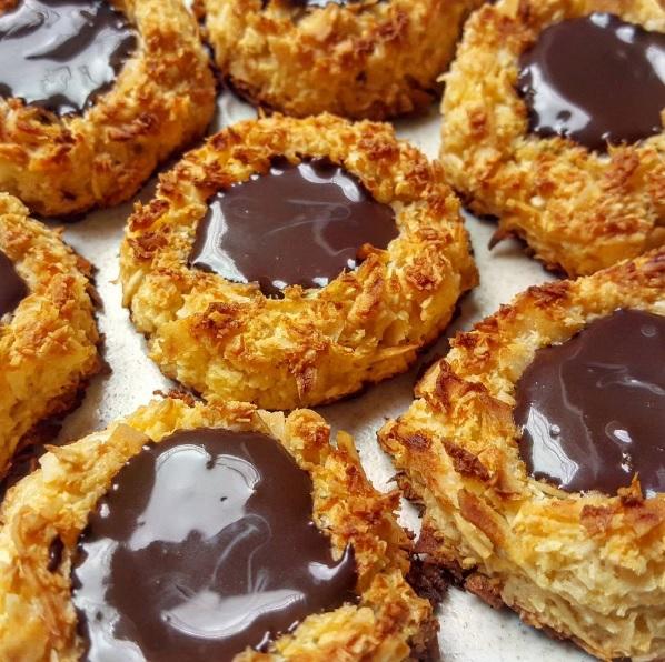 Recetas fit para gente com n nidos de coco y chocolate - Comidas saludables faciles de hacer ...