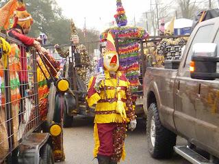 Courir de Mardi Gras & Artichoke Squares