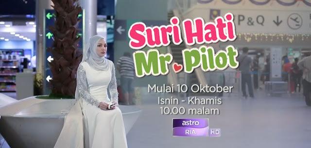 Neelofa dan Fattah Amin Dalam Suri Hati Mr Pilot