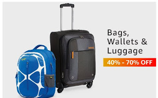 bags,wallets&luggage up to 40%-70% off