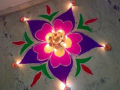 Rangoli Design for Diwali 2017