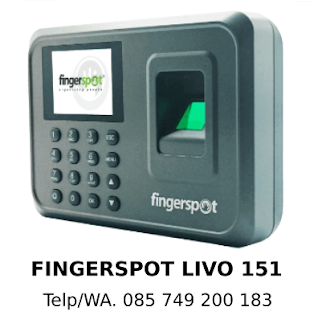 Supplier Mesin Absensi Fingerspot Livo 151 Murah