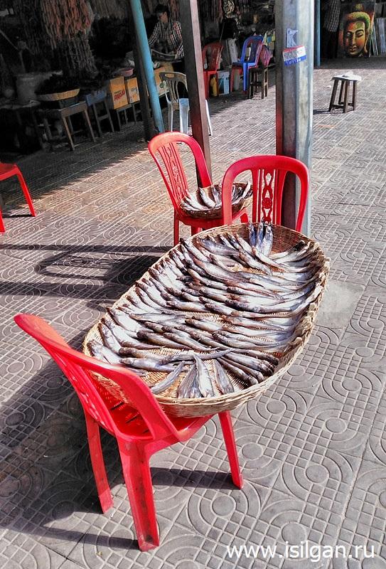 Рынок Сием Рипа. Камбоджа