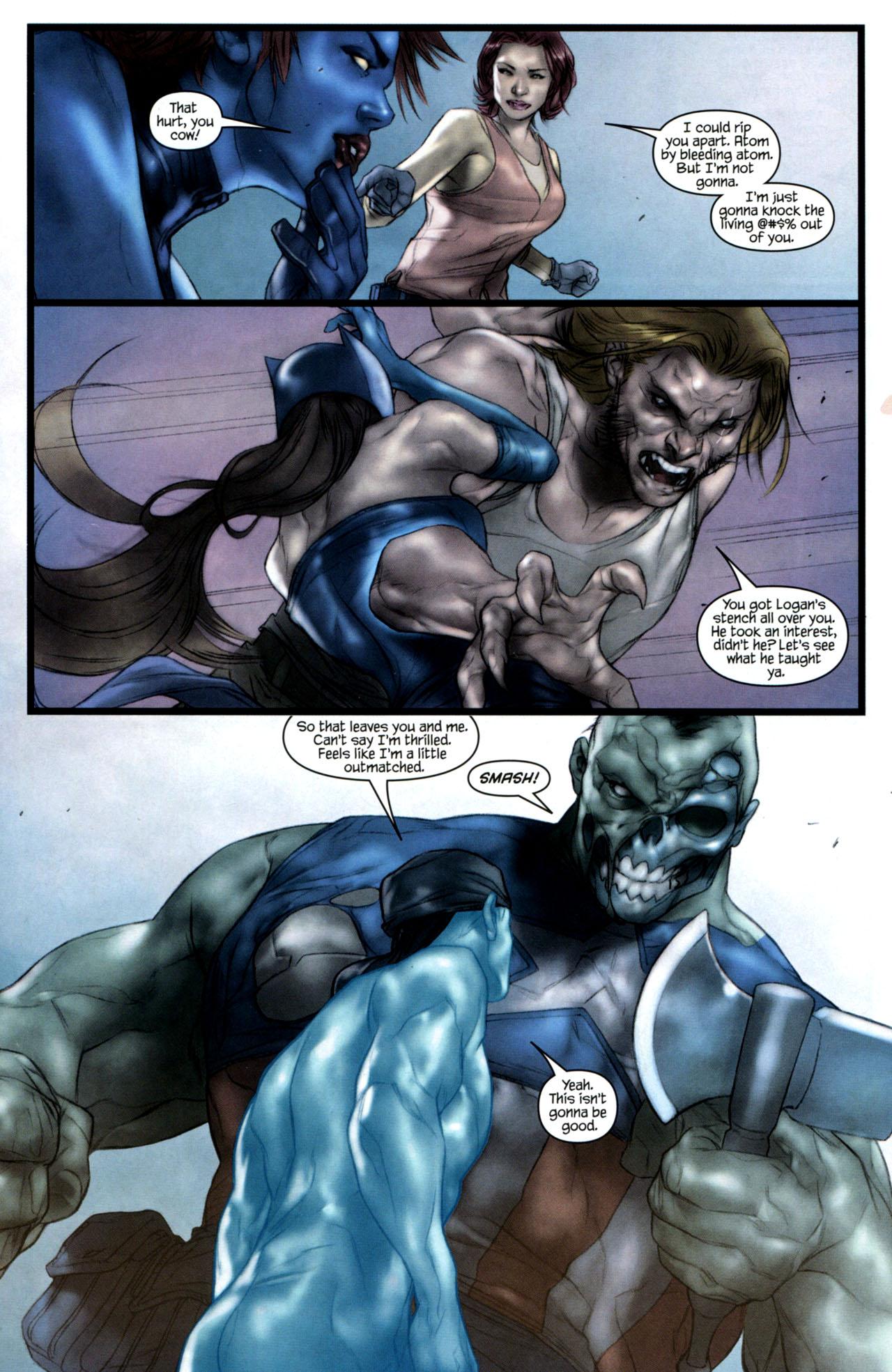 Read online Ultimatum: X-Men Requiem comic -  Issue # Full - 17