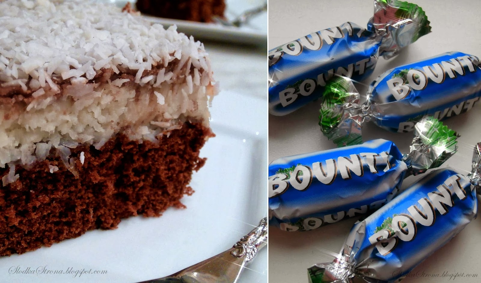 przepis  ciasto bounty