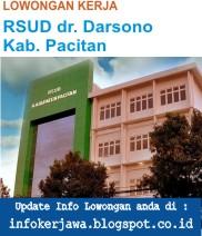 Lowongan Kerja RSUD dr. Darsono Kab. Pacitan