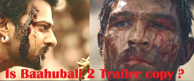 spartacus  Baahubali 2 Spoof: Is Baahubali 2 The Conclusion Fight Scenes are Copied from English movie