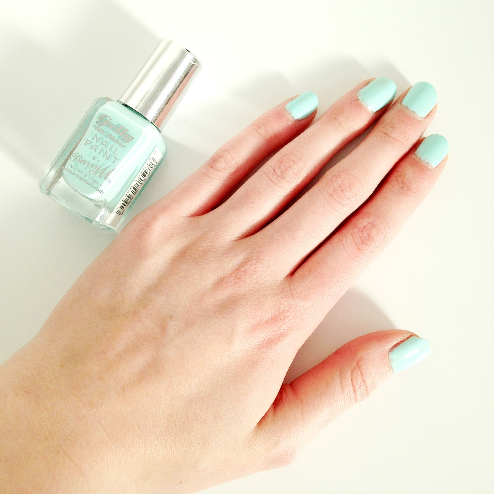 Barry M Sugar Apple Gelly Nail Paint