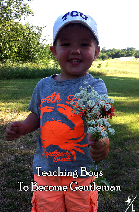 teaching boys to become gentleman
