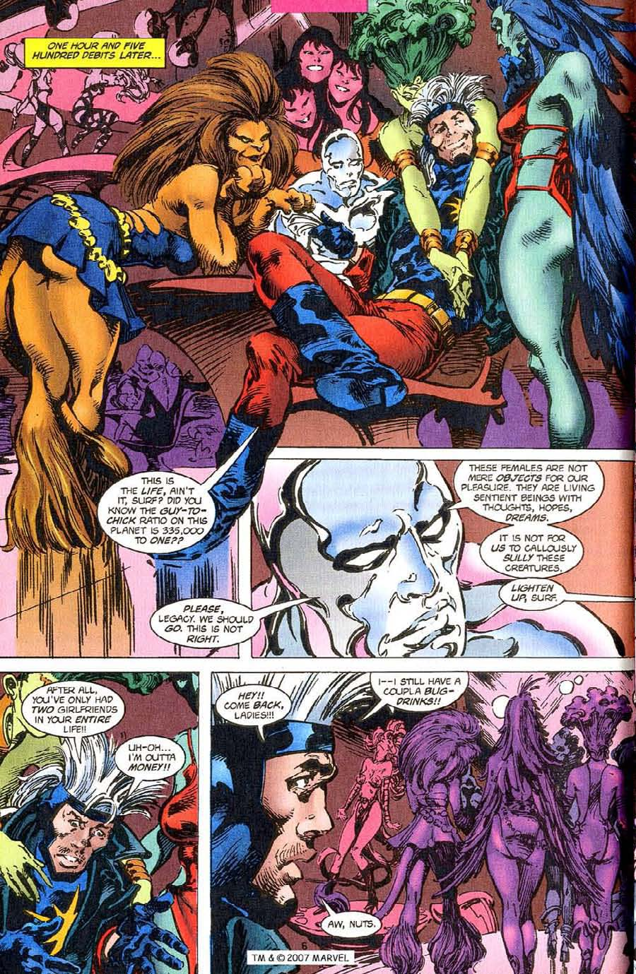 Read online Silver Surfer (1987) comic -  Issue #110 - 8