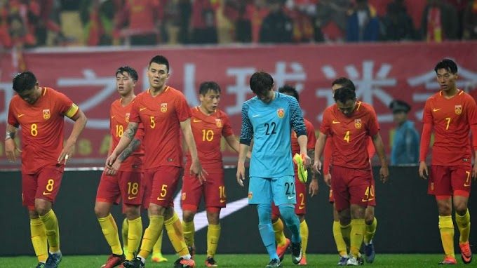China plodding into the Asian Cup