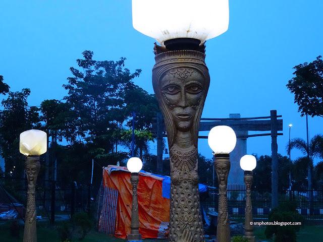 Night View of Eco Tourism Park, Kolkata