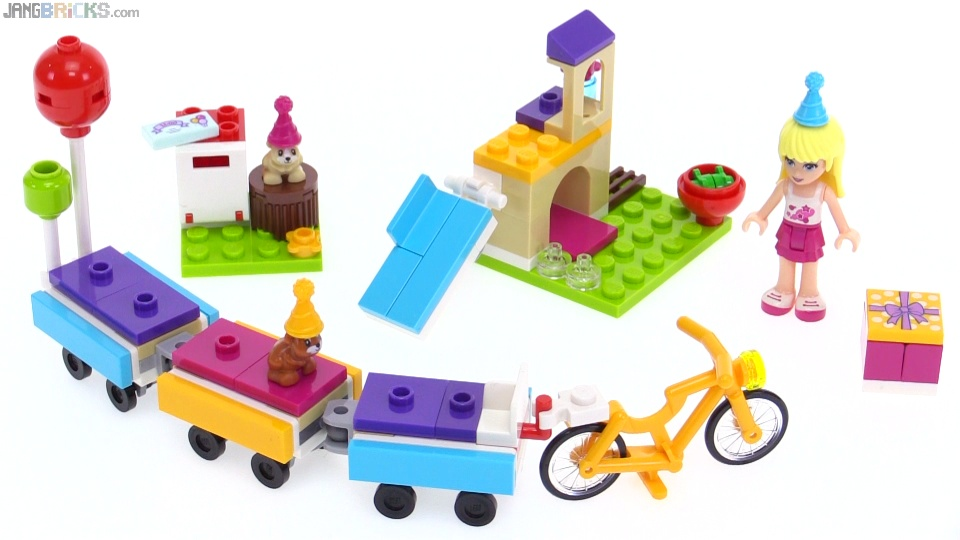 LEGO Friends birthday Party Train review! 41111