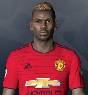 PES 2017 Faces Paul Pogba by Ben Hussam FaceMaker
