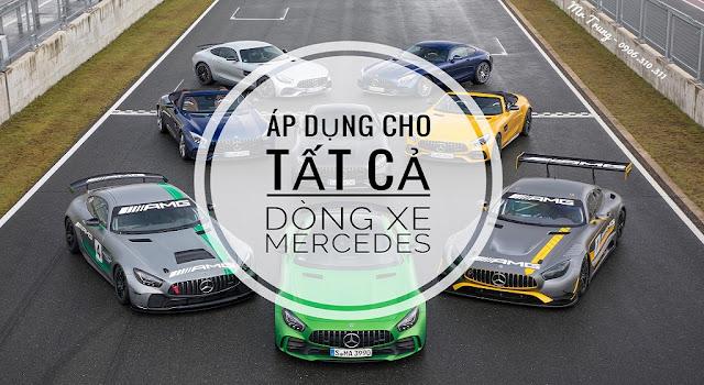 Chương trình khuyến mãi tại Mercedes Võ Văn Kiệt được áp dụng cho tất cả các dòng xe Mercedes tại thị trường Việt Nam