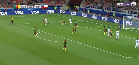 بالفيديو : بطل افريقيا يخسر من تشيلي بهدفين دون رد فى كأس العالم للقارات السبت 18-6-2017