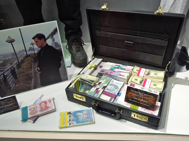Bourne Identity money movie prop