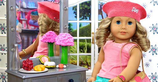 Ellen On The Air Show | American Girl Spirit Doll House