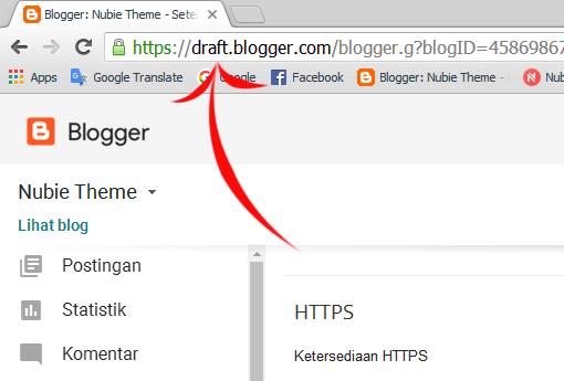 Cara mengaktifkan HTTPS di blog custom domain
