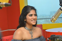 Mega Akash in a sleeveless Off Shoulder Cute Dress Stunnign beauty at Radio Mirchi Promoting Movie LIE ~ Celebrities Galleries 006.JPG