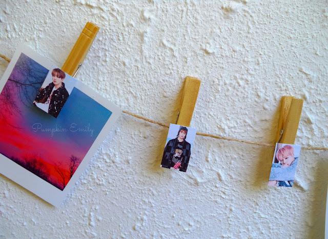 BTS Clothespins