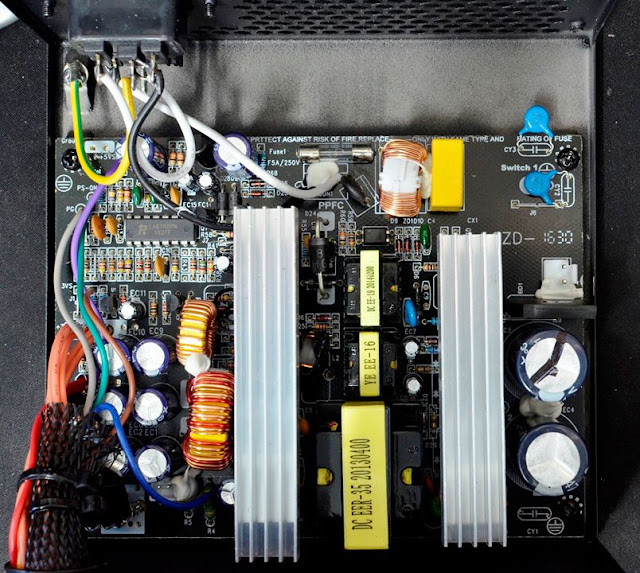 Andyson E5+ 300W -Passive PFC Single Rail True Power 13