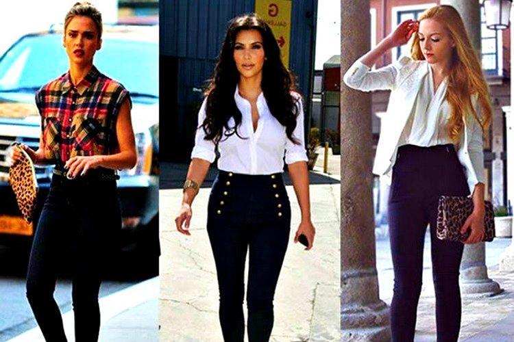 Çoğu durumda üstünüze giydiğinizi, altınıza giydiğiniz pantolonun içine sokmak daha iyidir.