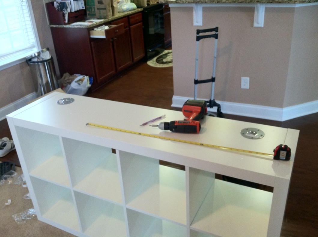 Ikea elevated DJ booth ~ Get Home Decorating