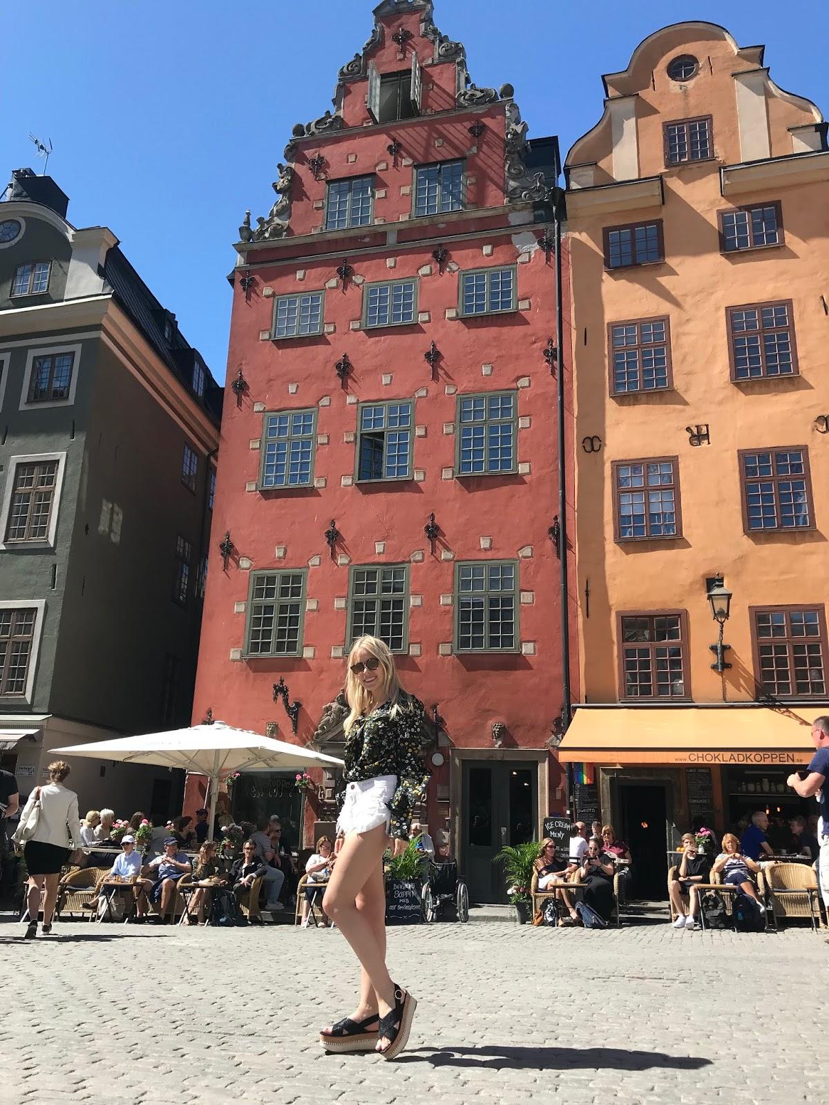 Gamla Stan em Estocolmo na Suécia