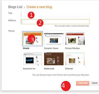 blogger create