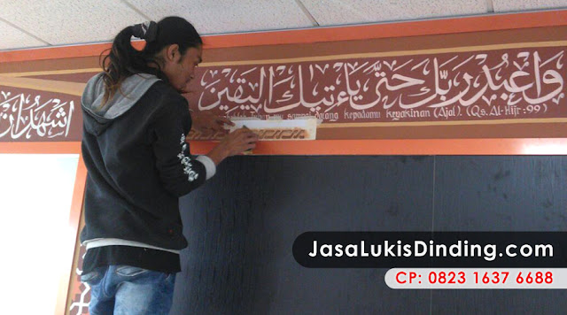 Jasa Lukis Dinding Murah Jakarta